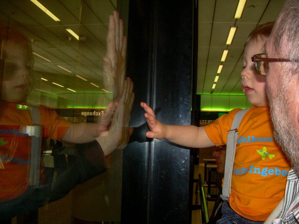 Zou hij mij herkennen?,Foto: Wolter & Ineke Zigterman