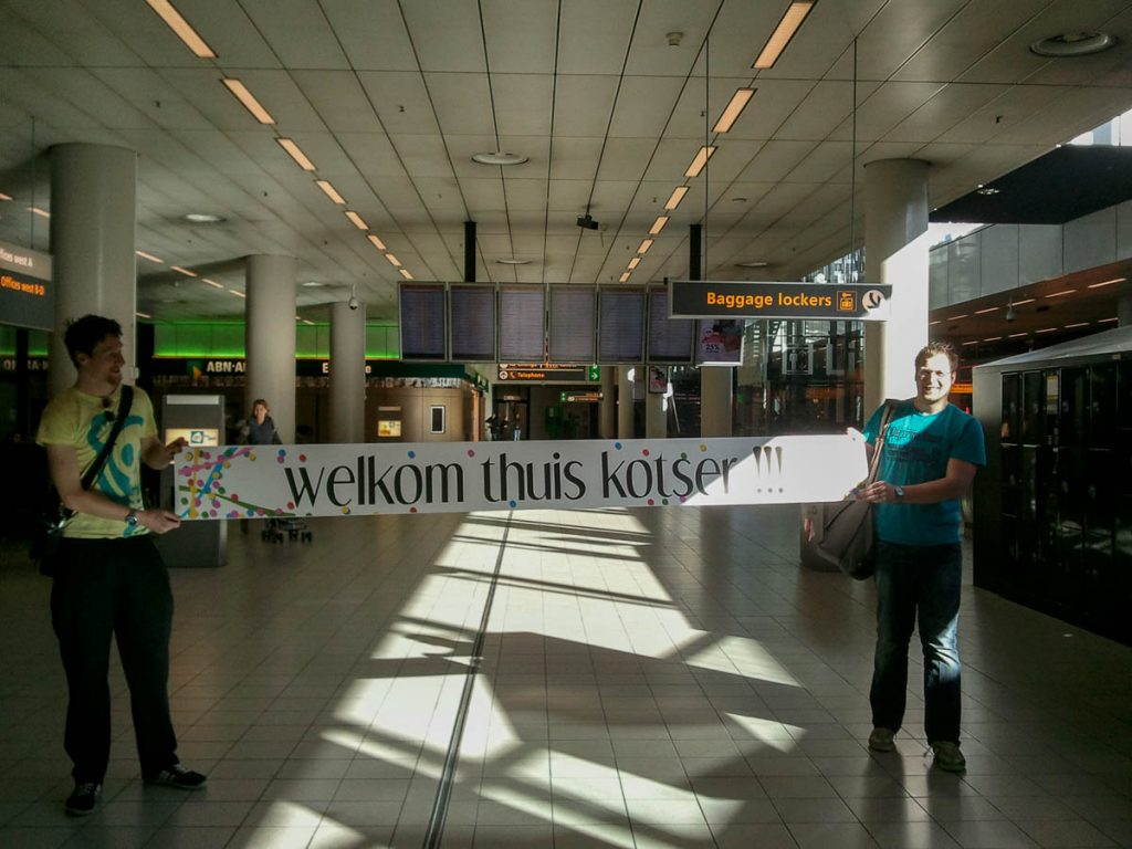 Welkom thuis door Ewout en Johan,Foto: Wolter & Ineke Zigterman