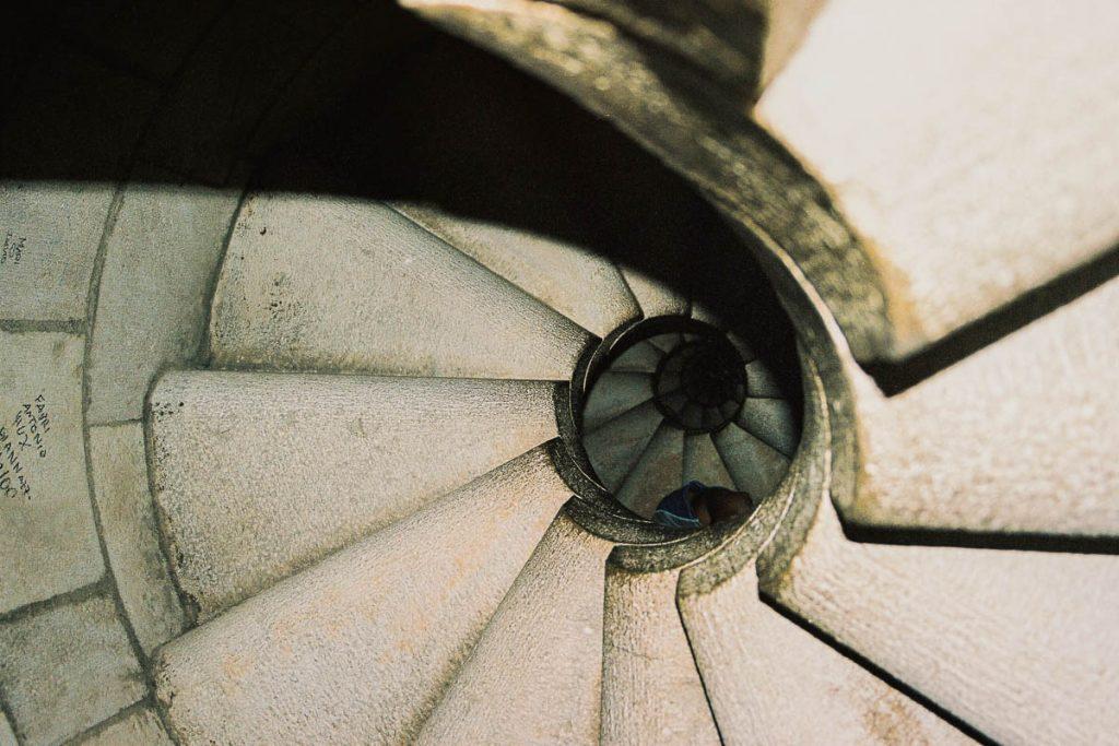 Trap,Sagrada Familia, Barcelona, Catalonië, Spanje (2003)