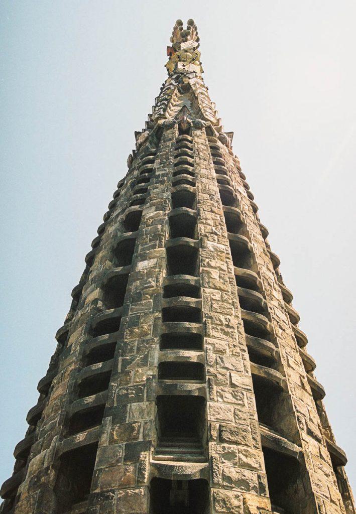Toren,Sagrada Familia, Barcelona, Catalonië, Spanje (2003)