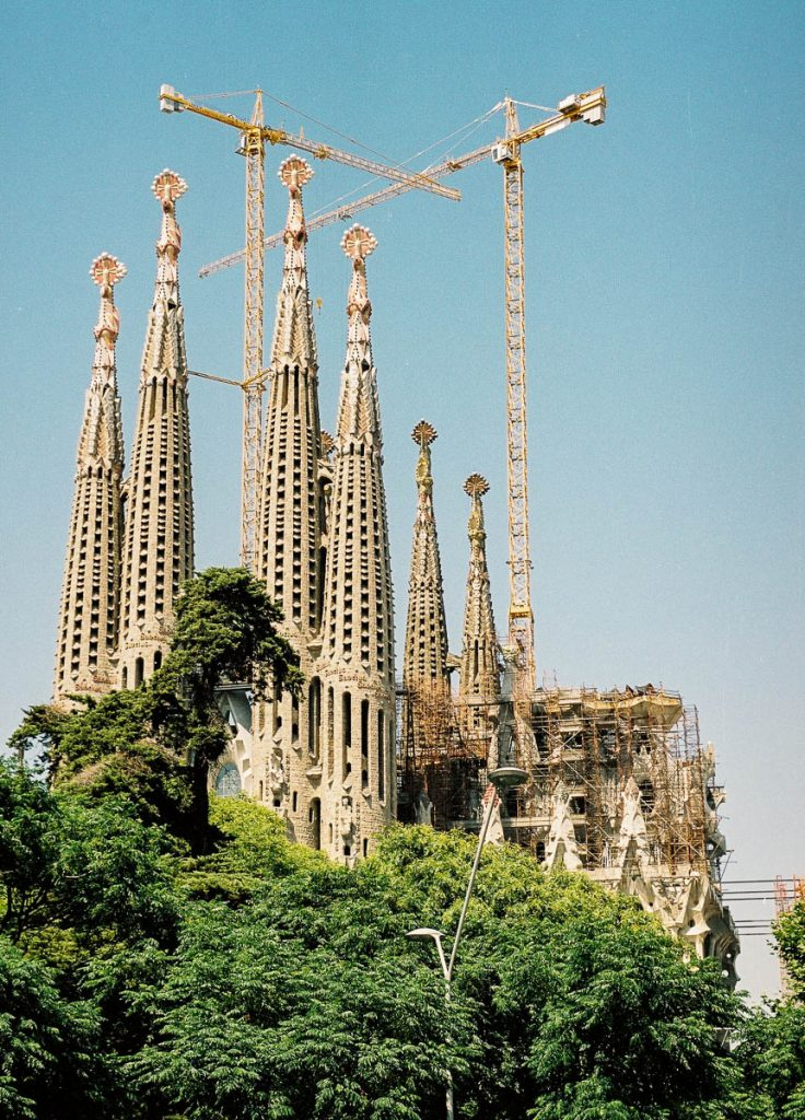 Sagrada Familia,Sagrada Familia, Barcelona, Catalonië, Spanje (2003)