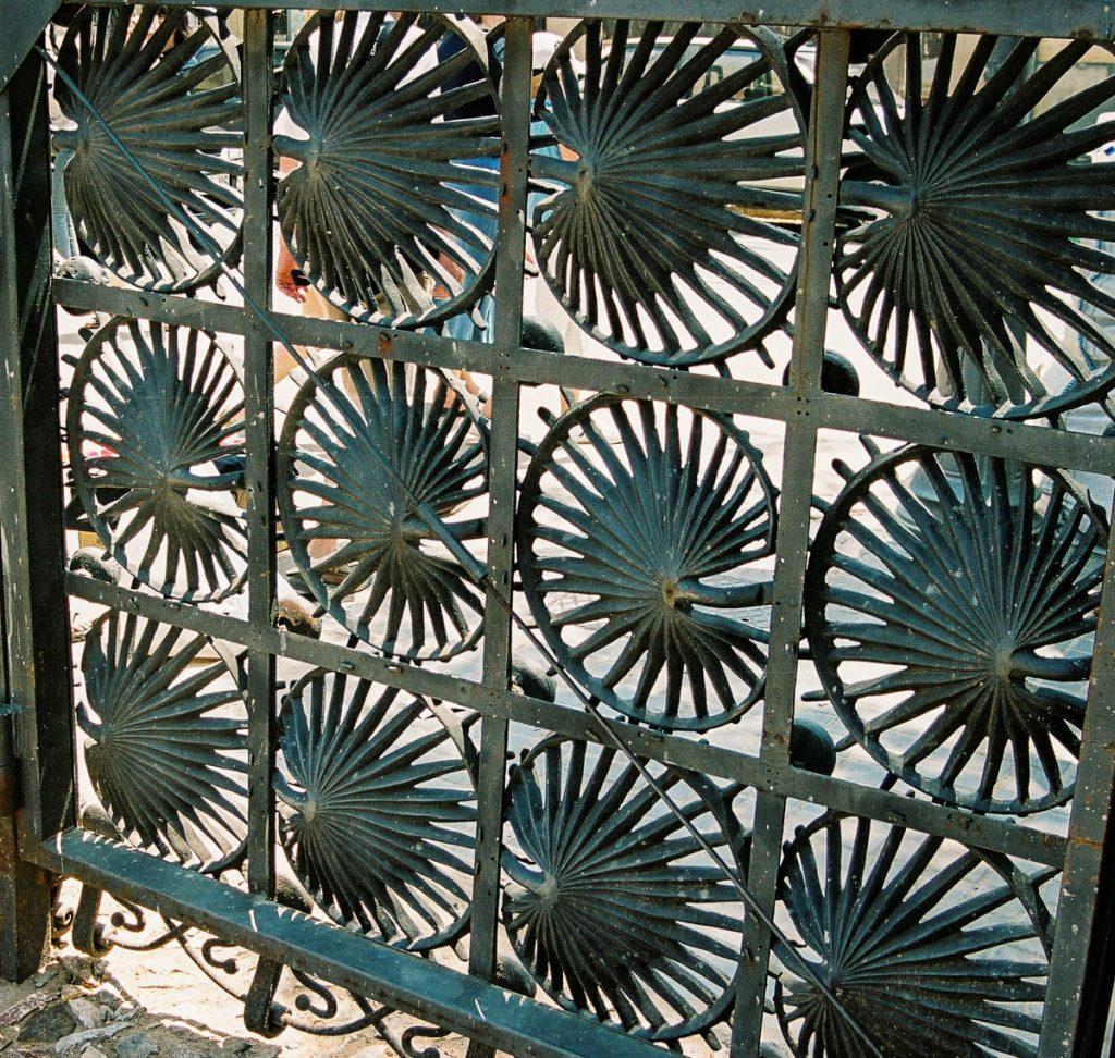 Hek,Park Güell, Barcelona, Catalonië, Spanje (2003)