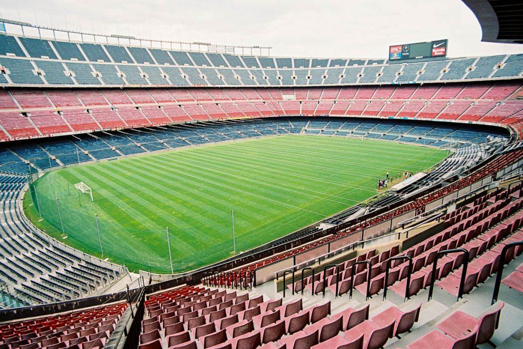 Camp Nou Stadion,Camp Nou, Barcelona, Catalonië, Spanje (2003)