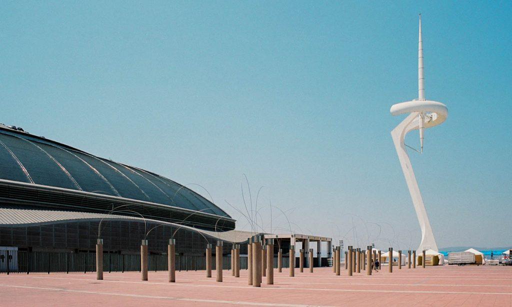 Olympic Park,Olympic Village, Barcelona, Catalonië, Spanje (2003)