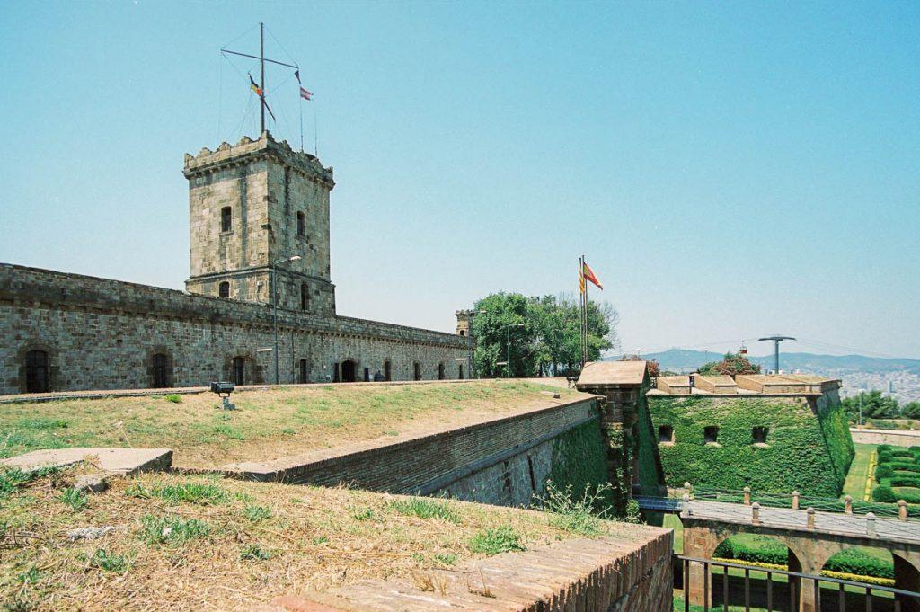 Castell Monjuïc,Castell Monjuïc, Barcelona, Catalonië, Spanje (2003)