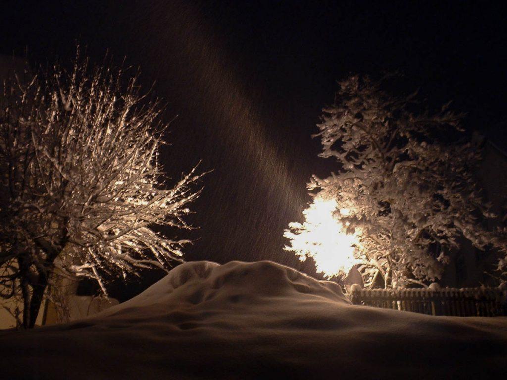 Verlichtte Sneeuw,Fierberbrunn, Tirol, Oostenrijk (2004)