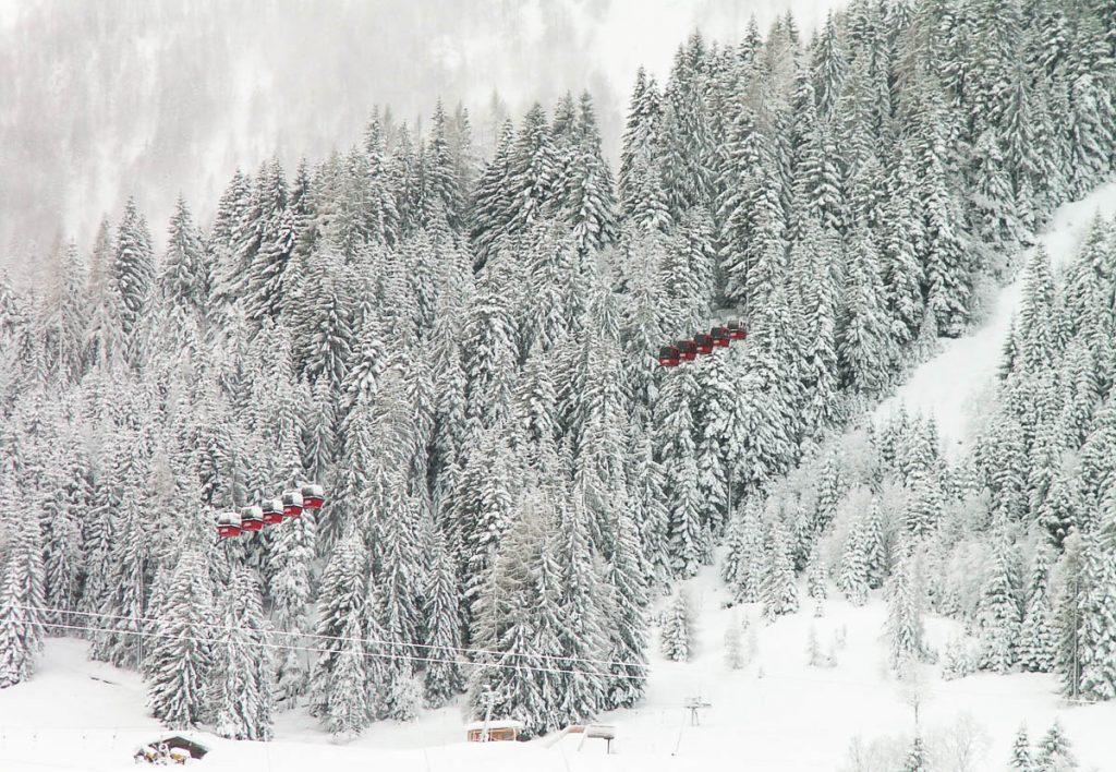 Gondels,Fieberbrunn, Tirol, Oostenrijk (2005)