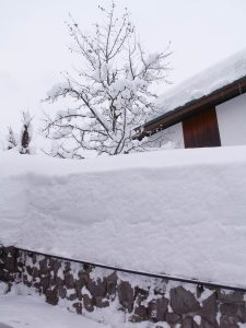 Klein beetje sneeuw