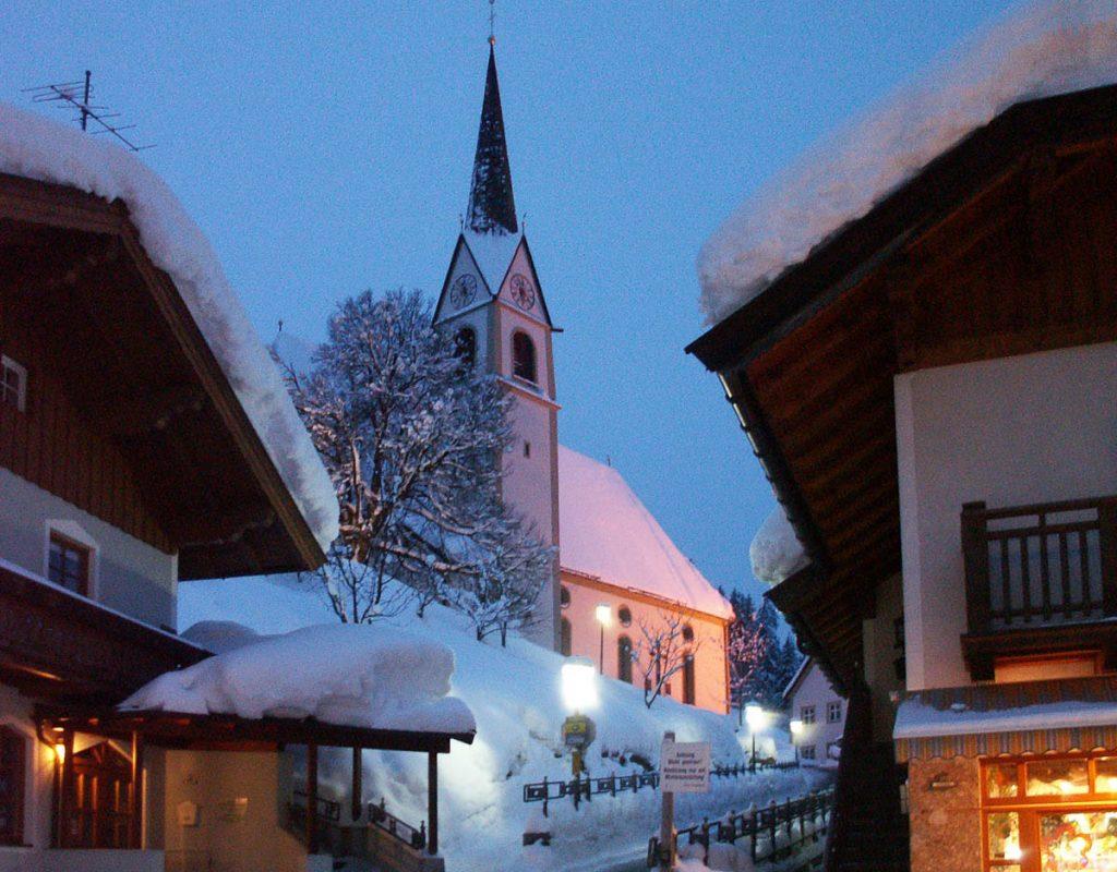 Pfarrkirche,Fieberbrunn, Tirol, Oostenrijk (2005)