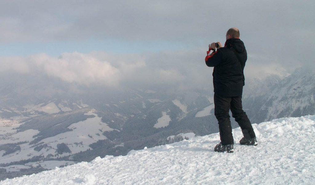 Wat een uitzicht!,Fieberbrunn, Tirol, Oostenrijk (2005)