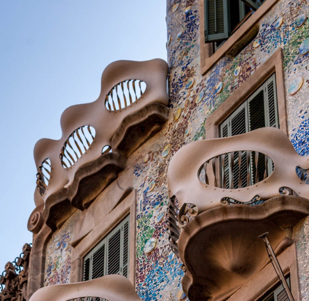 Casa Batlló,Casa Batlló, Barcelona, Catalonië, Spanje (2005)