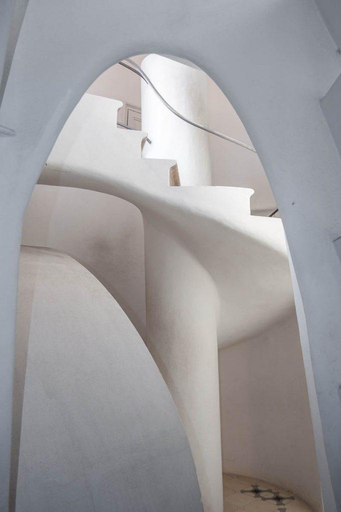 Trappenhuis,Casa Batlló, Barcelona, Catalonië, Spanje (2005)