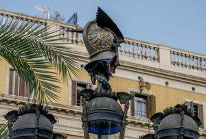 Lantern (Antoni Gaudí, 1878)