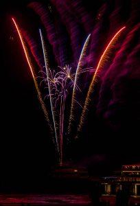 Koninginnedag vuurwerk