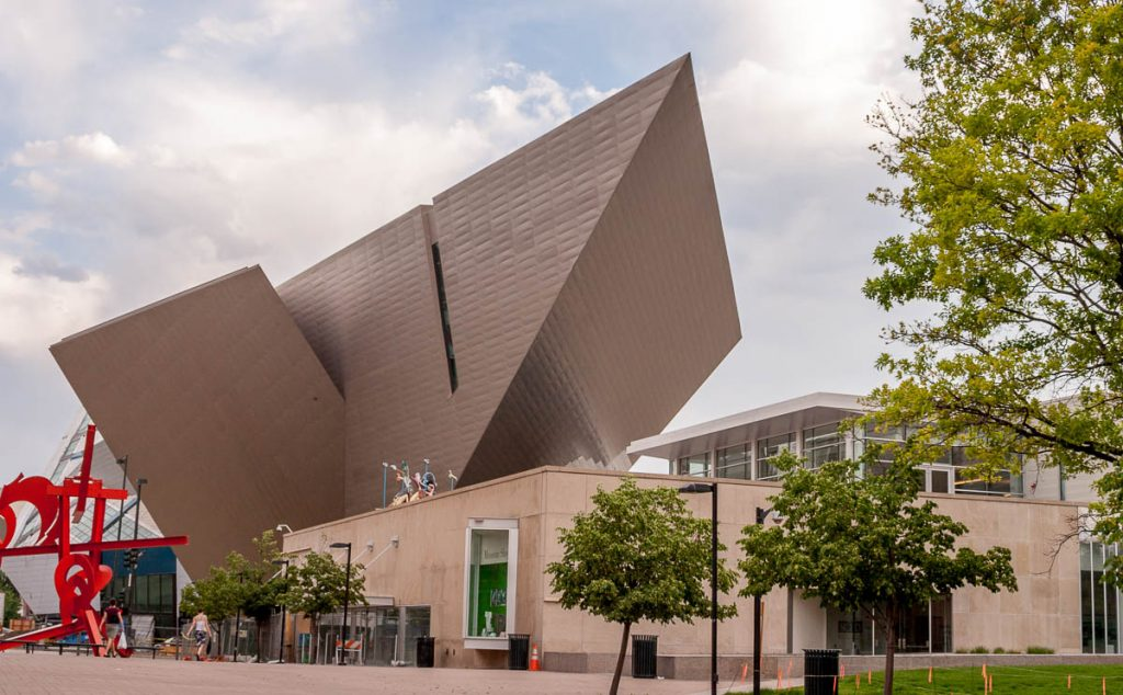 Denver Art Museum,Civic Center Park, Denver, Colorado, Verenigde Staten (2006)