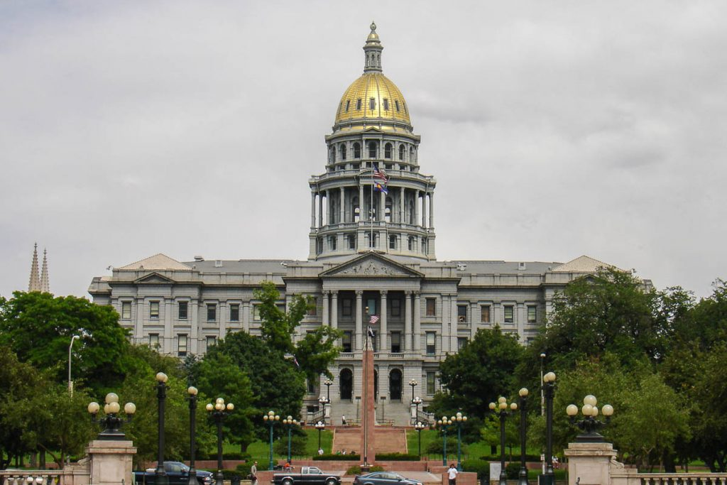 State Capitol,Civic Center Park, Denver, Colorado, Verenigde Staten (2006)
