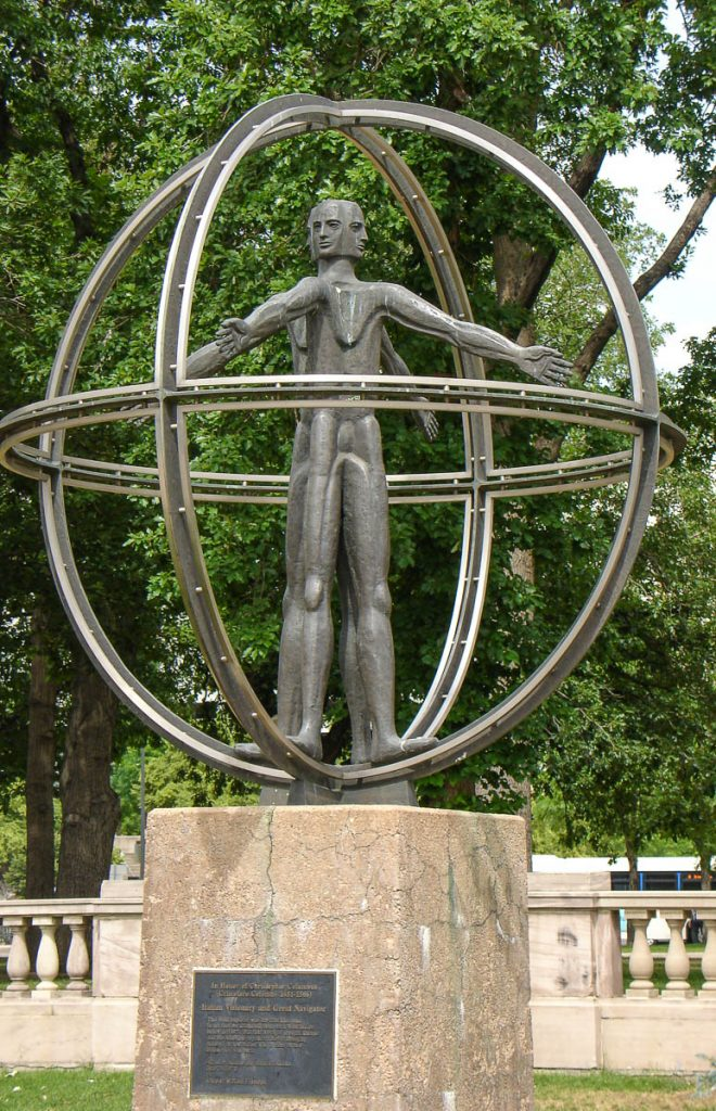 Christopher Columbus Memorial (William F. Joseph, 1970),Civic Center Park, Denver, Colorado, Verenigde Staten (2006)