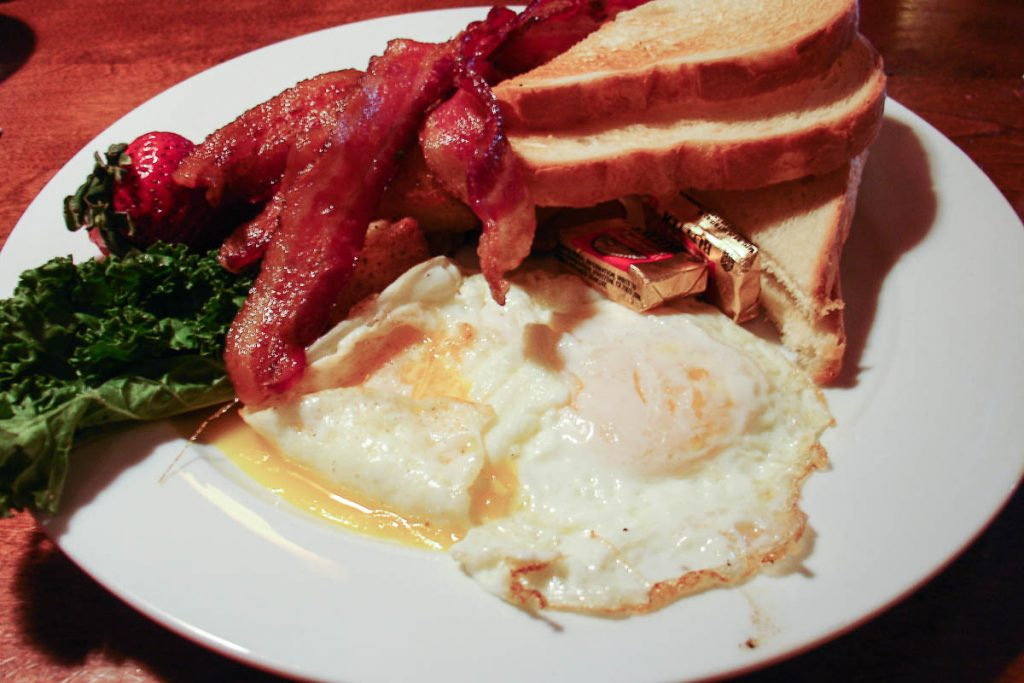 All American breakfast,Denver, Colorado, Verenigde Staten (2006)