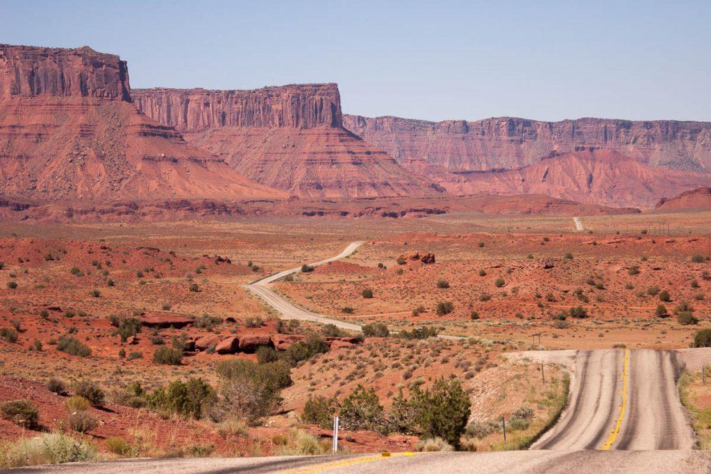 Utah landschap,Utah, Verenigde Staten (2006)