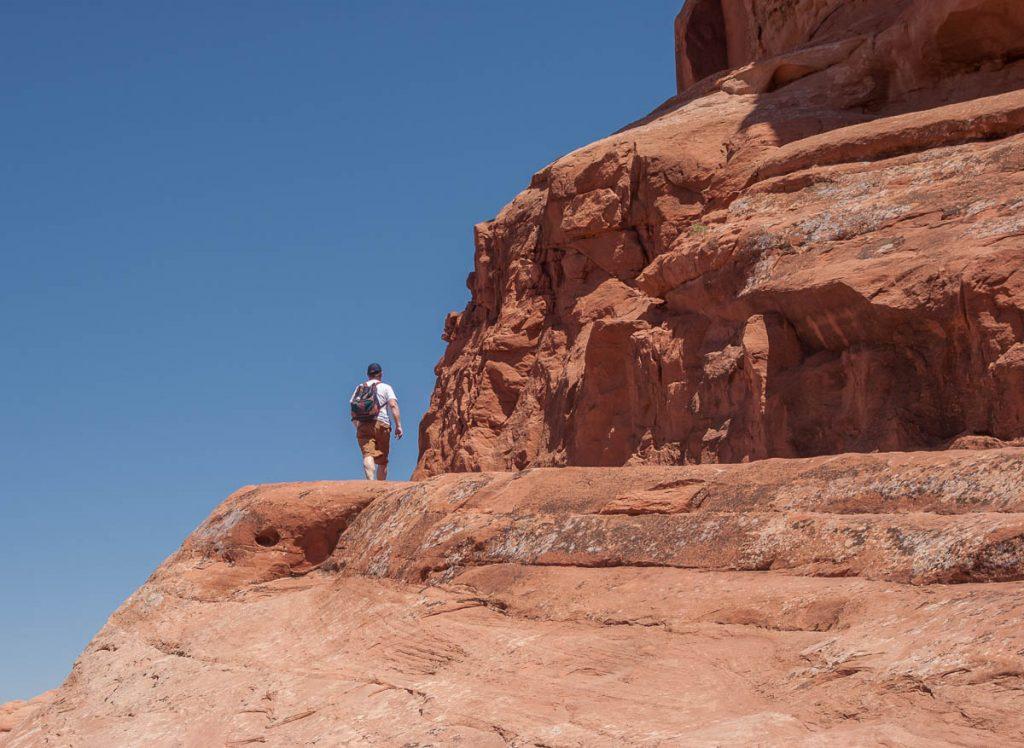 Wandeling,Arches National Park, Utah, Verenigde Staten (2006)