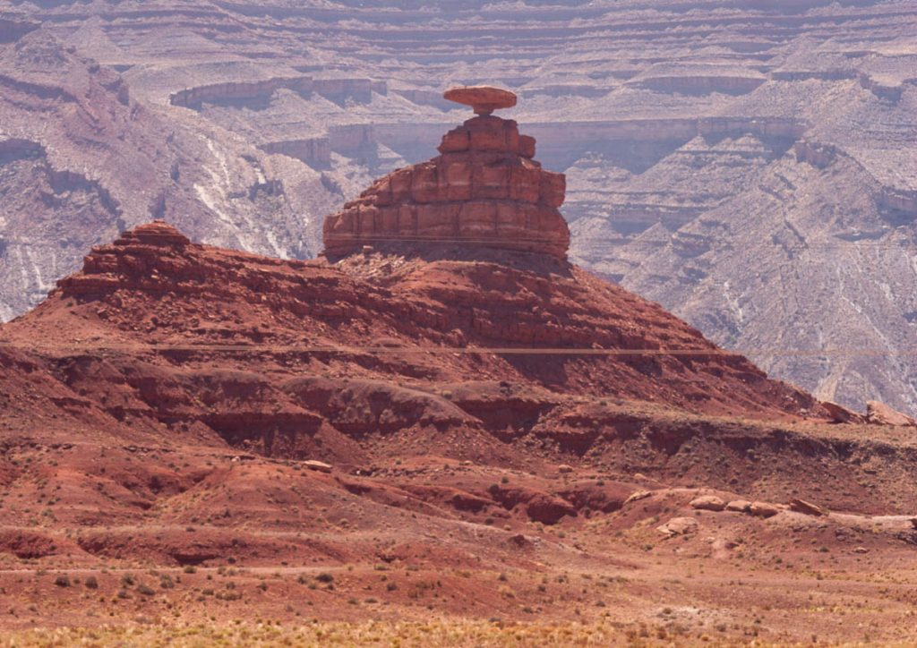 Mexican Hat Rock,Mexican Hat, Utah, Verenigde Staten (2006)