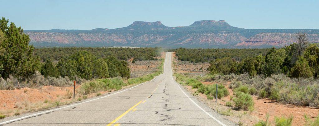 Lange rechte weg,Utah, Verenigde Staten (2006)