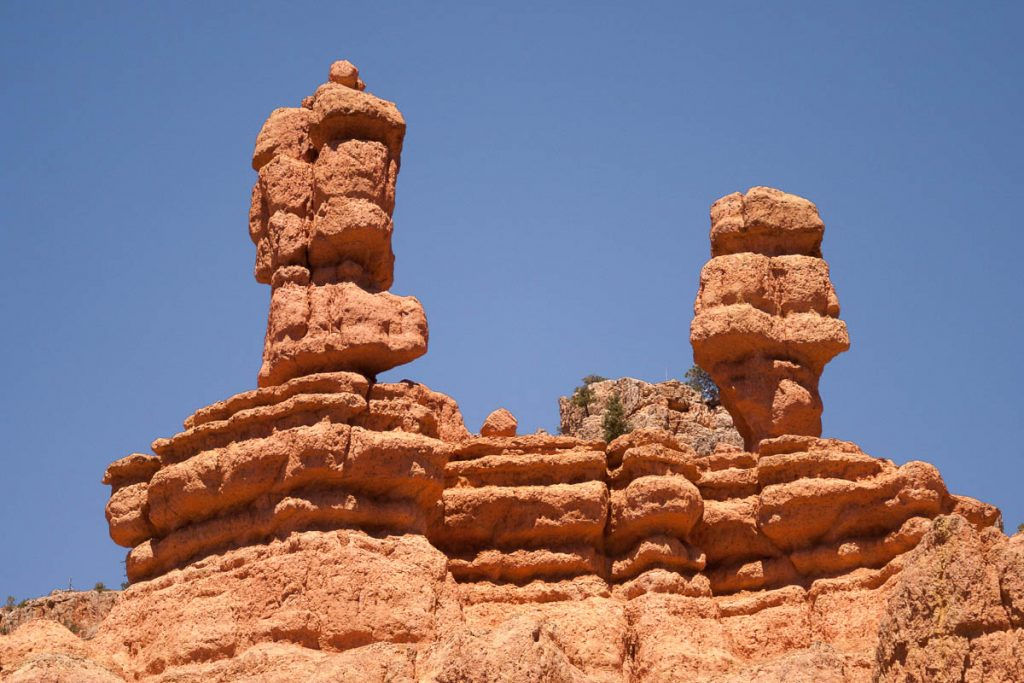 Het lijken wel Statler & Waldorf,Red Canyon, Dixie National Forest, Utah, Verenigde Staten (2006)
