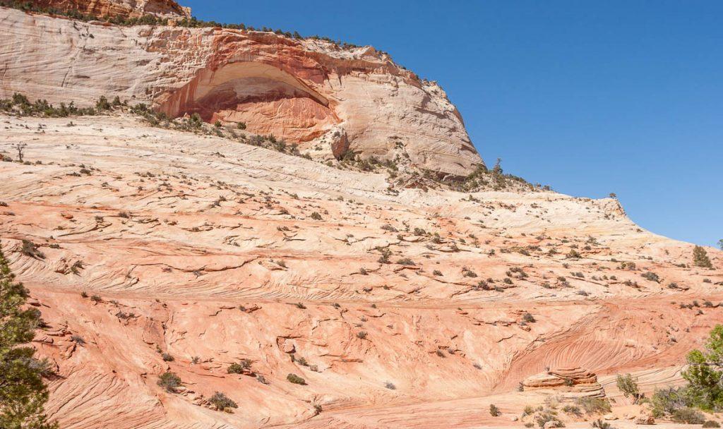 Er mist een stukje,Zion National Park, Utah, Verenigde Staten (2006)