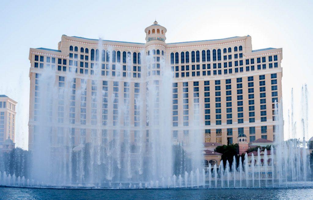 Fonteinen van de Bellagio,Las Vegas, Nevada, Verenigde Staten (2006)