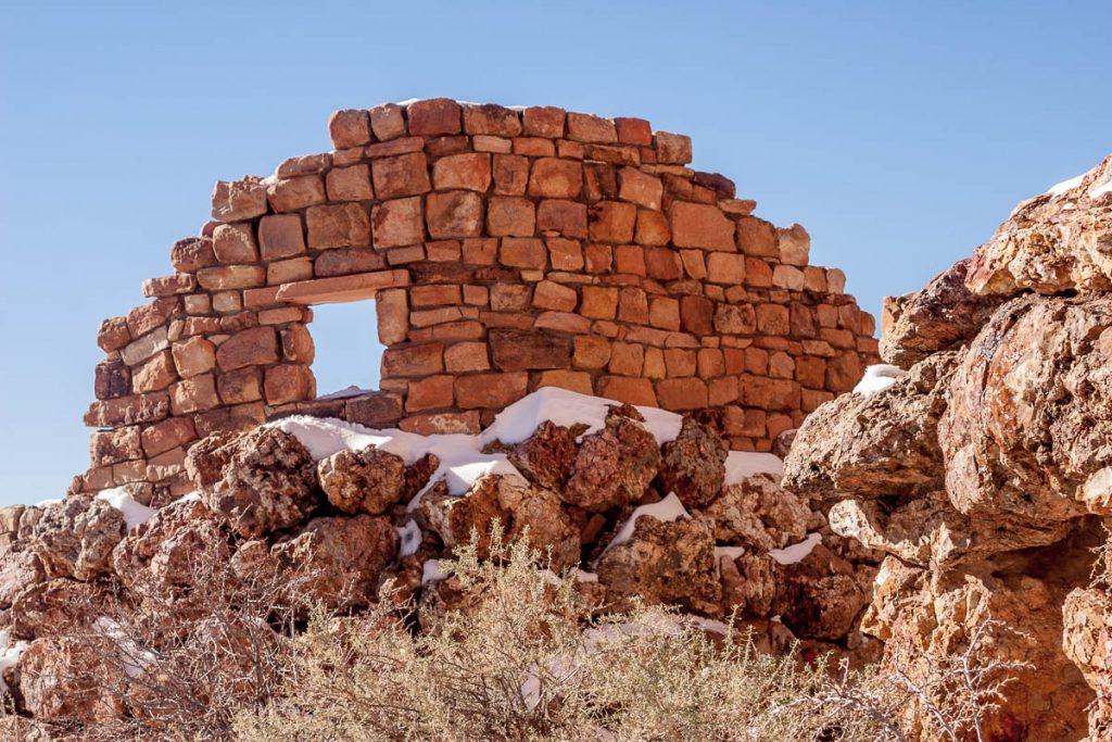 Er is niet veel meer van over,Grand Canyon National Park, Arizona, Verenigde Staten (2006)