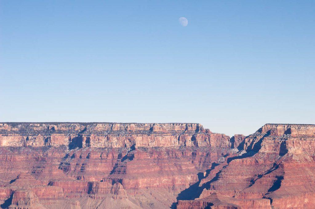 De maan,Grand Canyon National Park, Arizona, Verenigde Staten (2006)