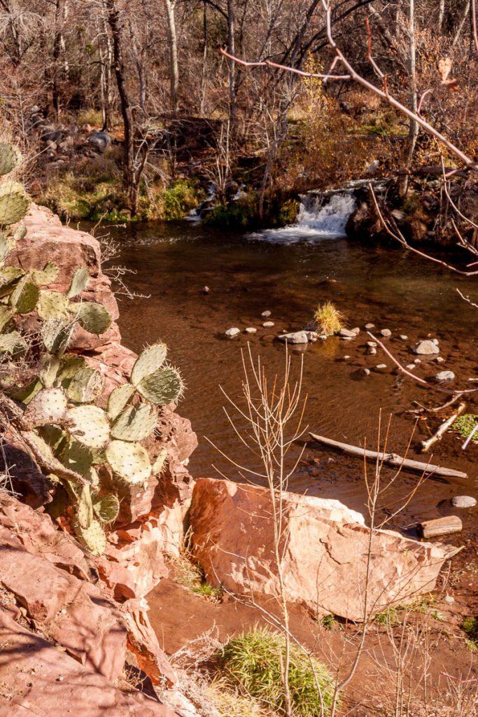 Water,Oak Creek Canyon, Arizona, United States (2007)