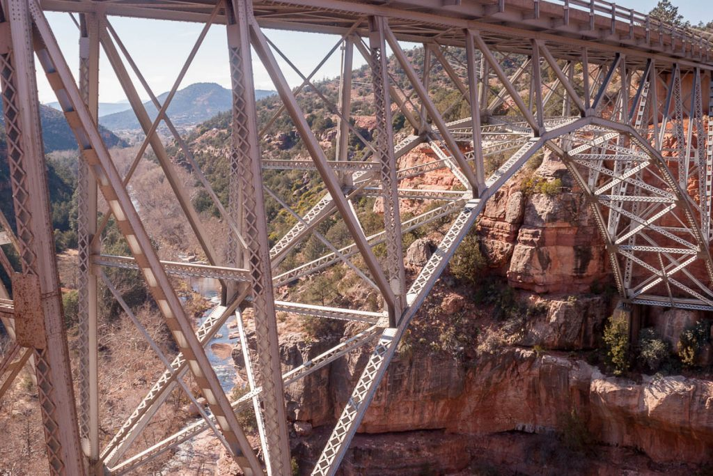 Midgley Bridge,Oak Creek Canyon, Arizona, United States (2007)