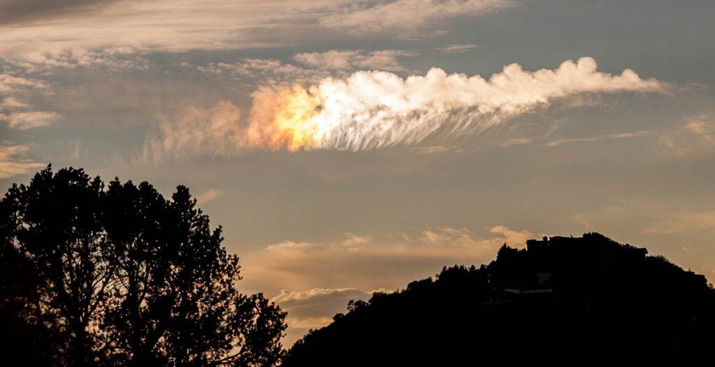 Iriserende wolken,Sedona, Arizona, United States (2007)