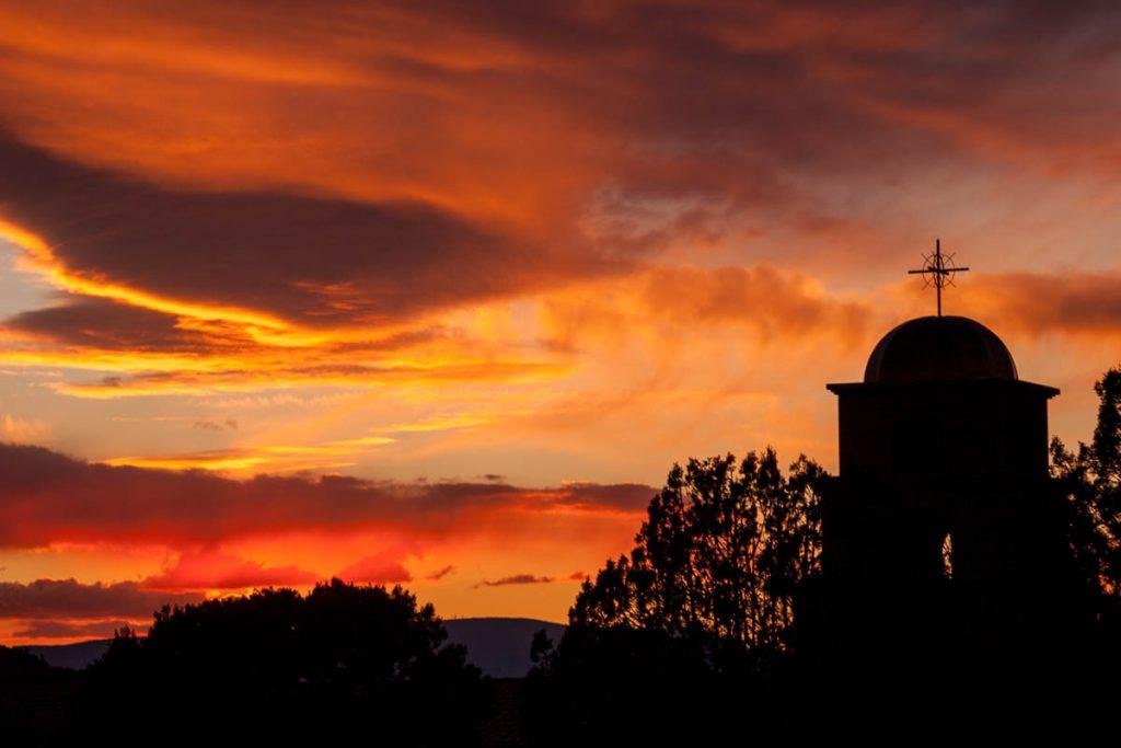 Zonsondergang,Village of Oak Creek, Arizona, United States (2007)
