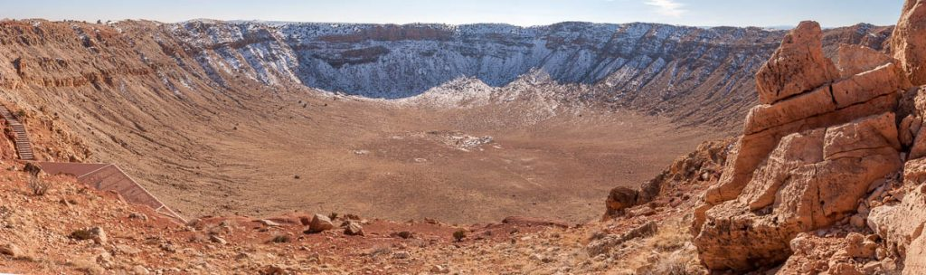 Meteor Crater,Meteor Crater, Winslow, Arizona, United States (2007)