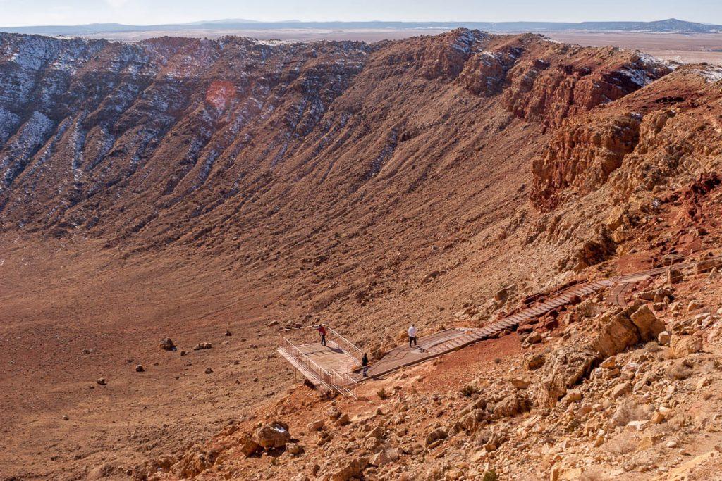 Uitzichtpunt,Meteor Crater, Winslow, Arizona, United States (2007)