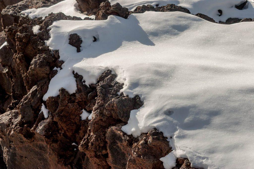 Sneeuw,Sunset Crater Vulcano National Monument, Arizona, United States (2007)
