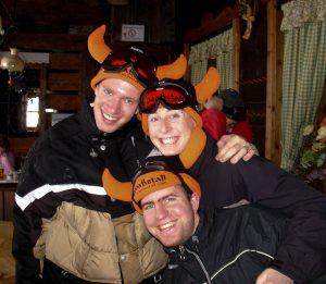 Arjan, Bert en ik