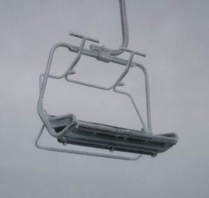 Bevroren stoel