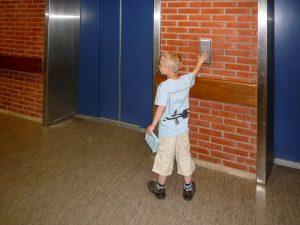 Met de lift naar boven
