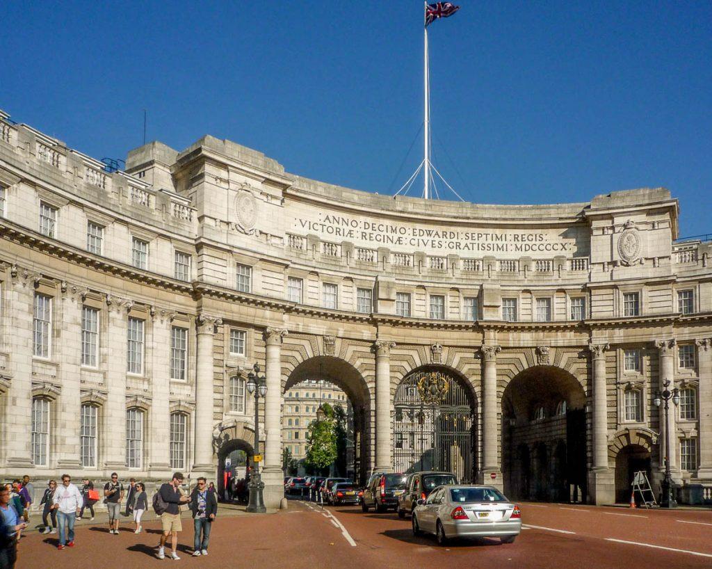 Admiralty Arch,Trafalgar Square, Londen, Engeland, Verenigd Koninkrijk (2010)