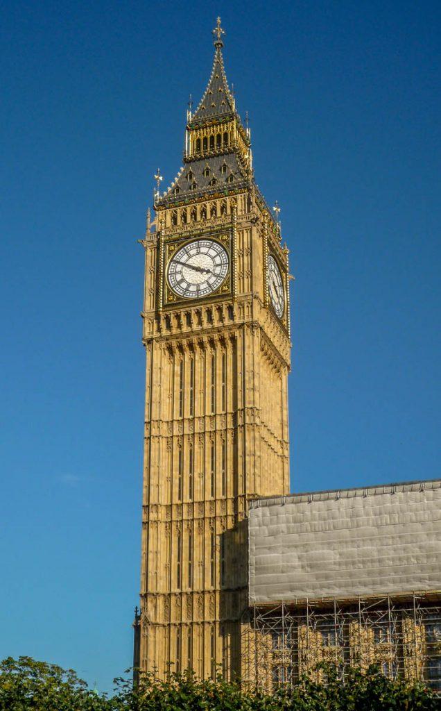 Cocktower (Big Ben),Londen, Engeland, Verenigd Koninkrijk (2010)