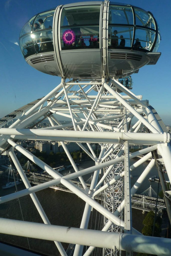 Capsule naast ons,London Eye, Londen, Engeland, Verenigd Koninkrijk (2010)
