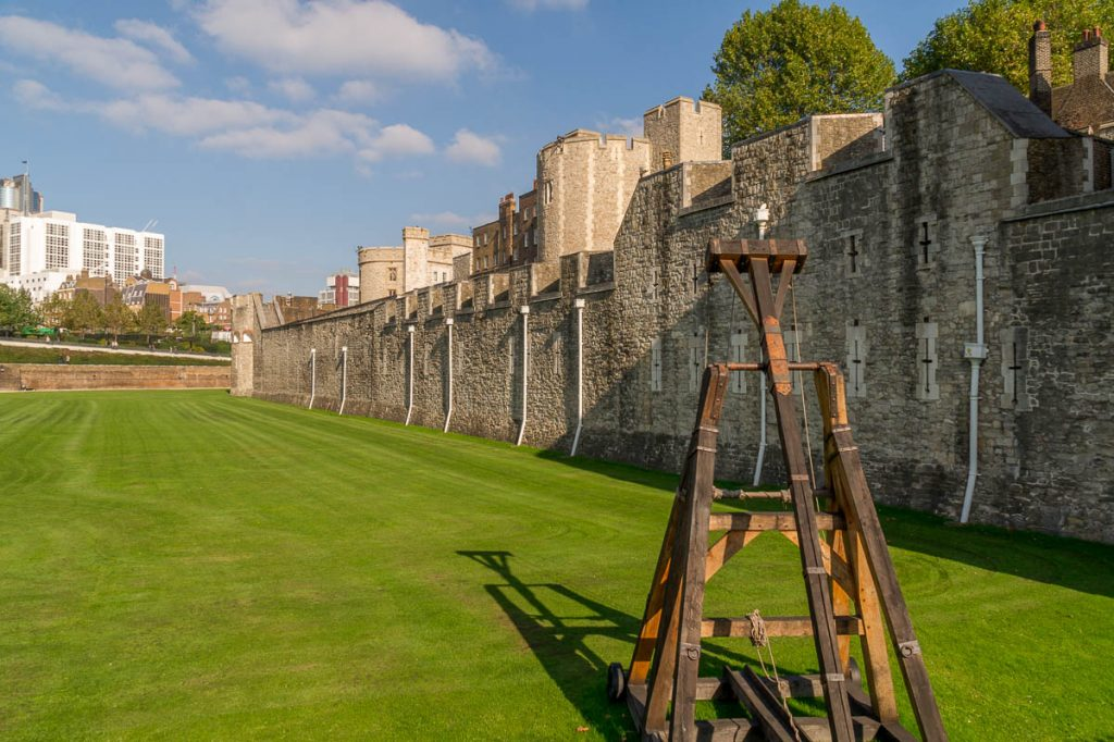 Catapult,Tower of London, Londen, Engeland, Verenigd Koninkrijk (2010)