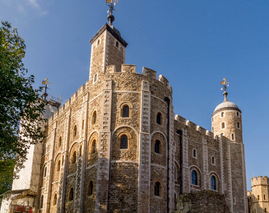 The White Tower,Tower of London, Londen, Engeland, Verenigd Koninkrijk (2010)