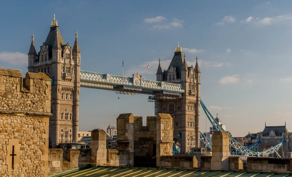 Tower Bridge,Tower of London, Londen, Engeland, Verenigd Koninkrijk (2010)