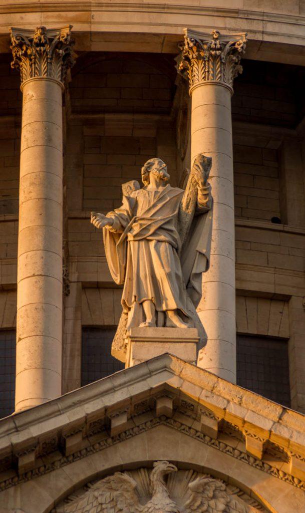 St. Paul's Cathedral - Detail,St. Paul's Cathedral, Londen, Engeland, Verenigd Koninkrijk (2010)