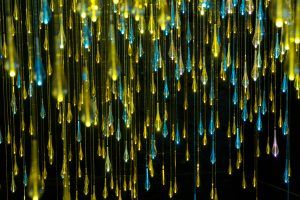 Twilight Shower (Bruce Munro, 2010)