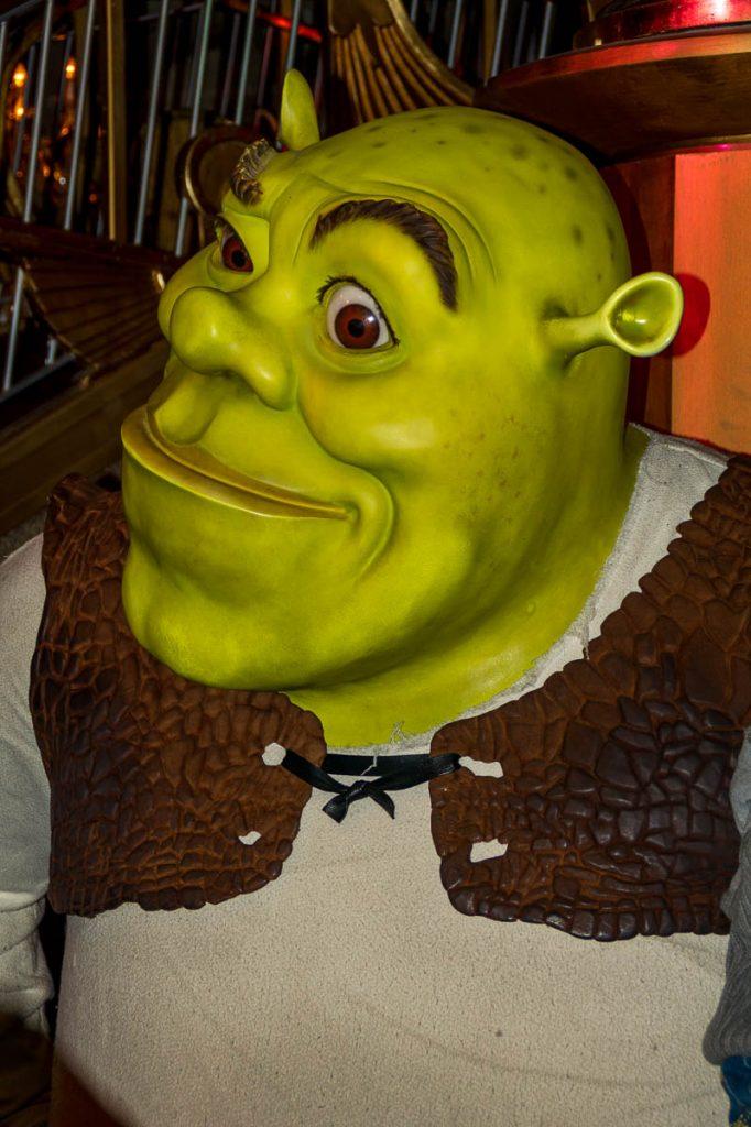Shrek,Madame Tussauds, Londen, Engeland, Verenigd Koninkrijk (2010)